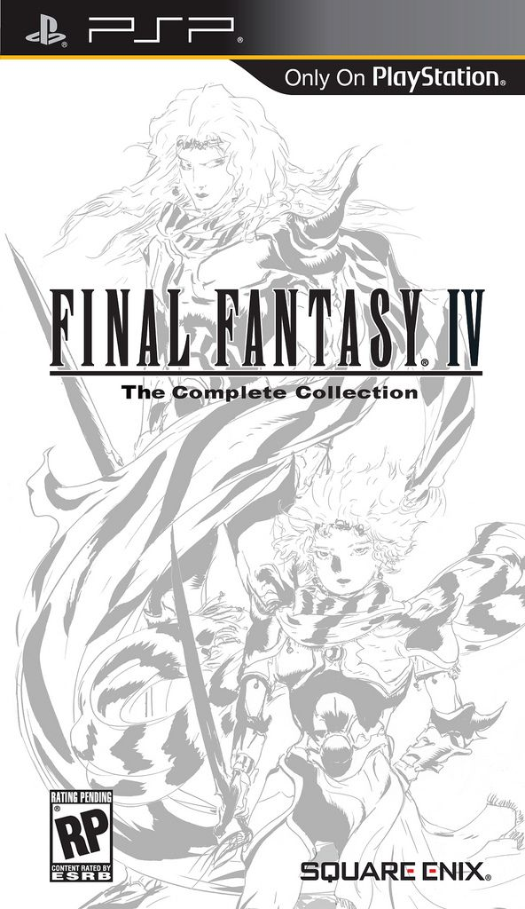 Final Fantasy Iv And The After Years Cover Psp Final Fantasy Iv Final Fantasy Psp Final Fantasy