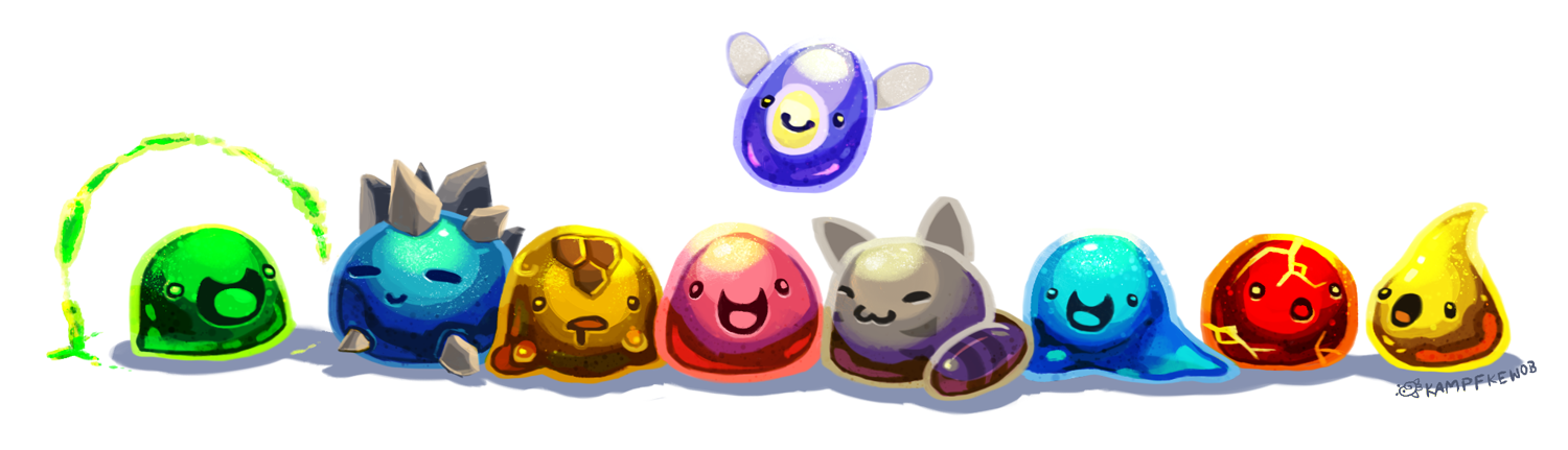 Slime Slime Rancher All Types | Slime Rancher Slimes by