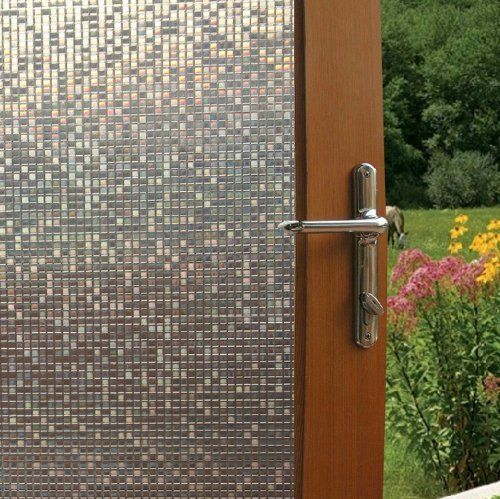perfect for windows! fancy-fix cut glass mini mosaic decorative