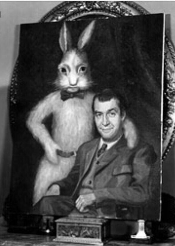 Pooka: a large mythical rabbit. Happy Easter everyone. A ...