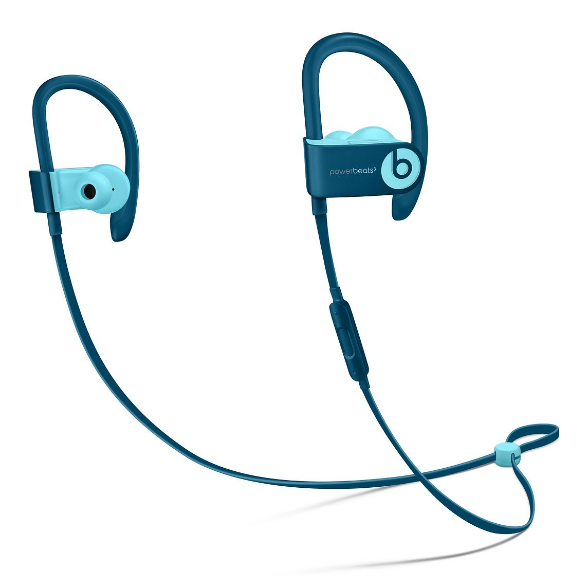 77798a23116 Powerbeats3 Wireless Earphones - Pop Blue - Beats Pop Collection -  Education - Apple