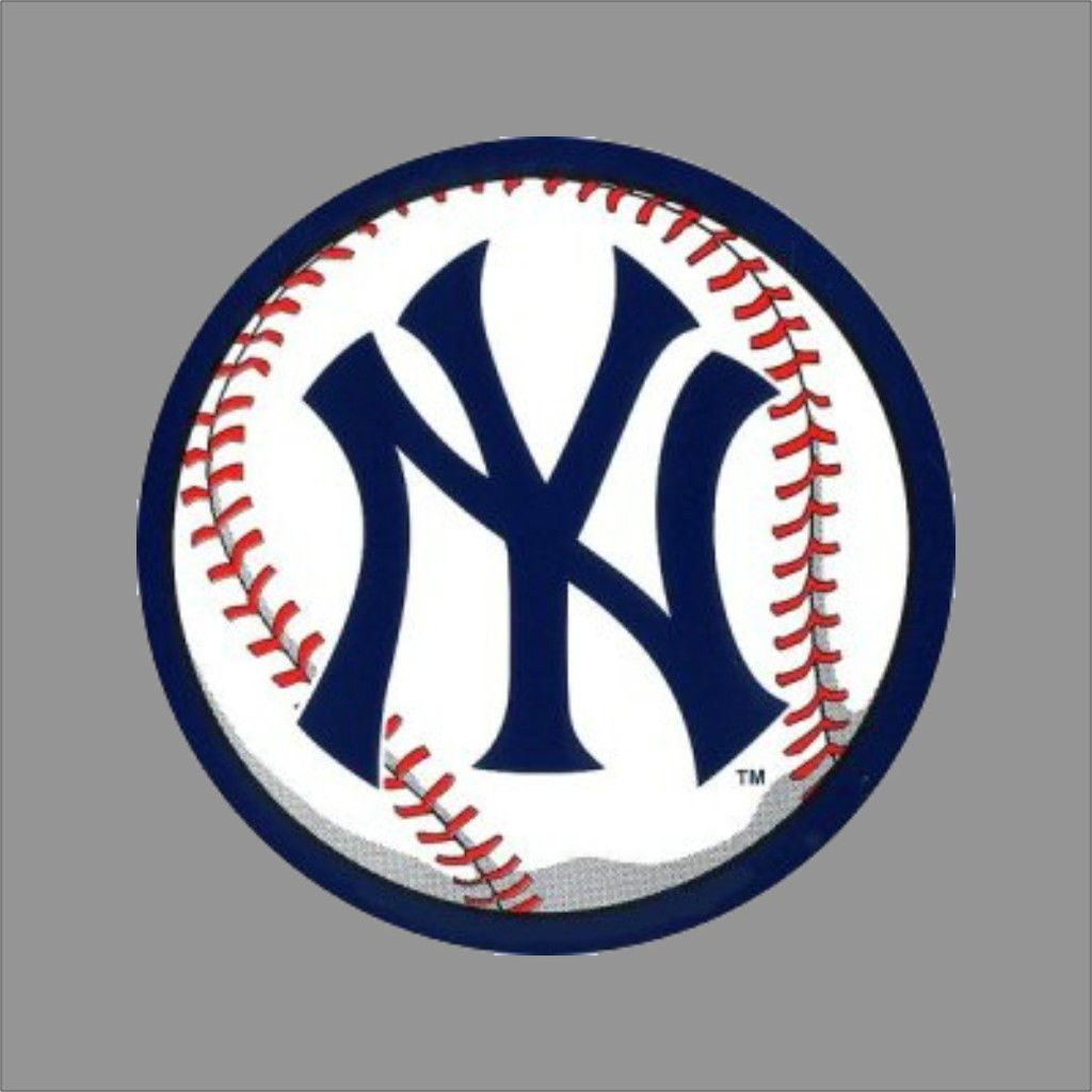 New York Yankees 5 Mlb Team Logo Vinyl Decal Sticker Car Window Wall Cornhole New York Yankees Logo Ny Yankees Logo Yankees Logo