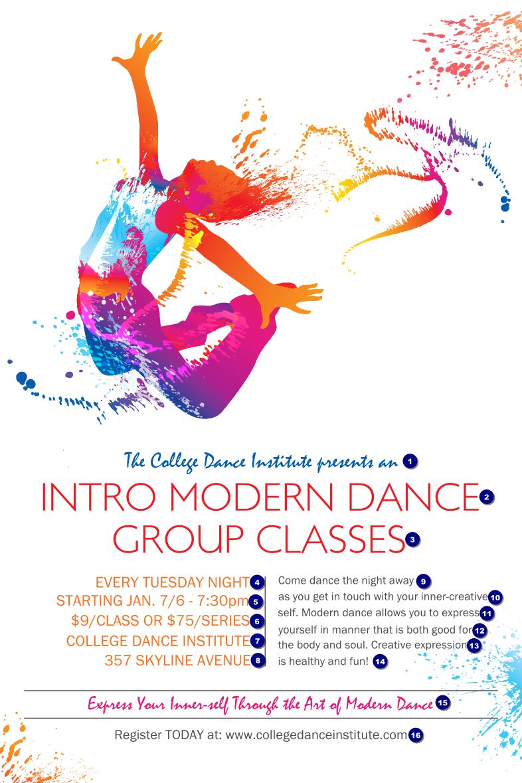 Modern Dance White Poster Dance Poster Modern Dance Dance Logo