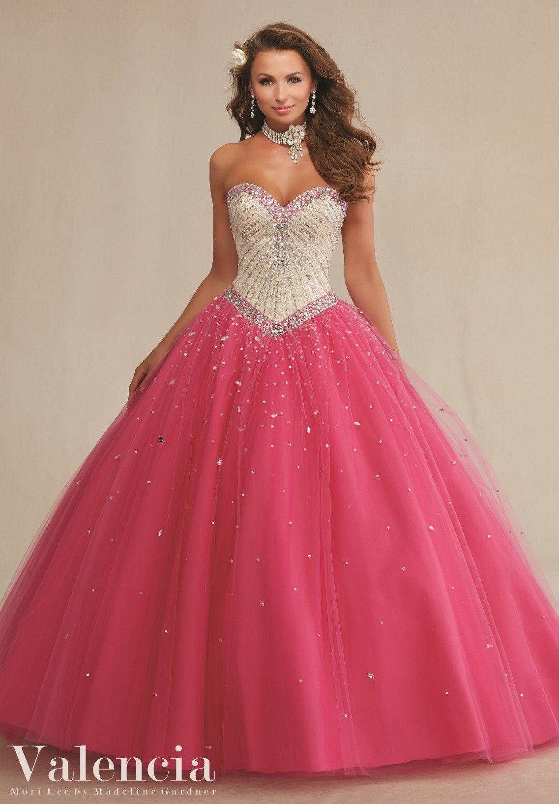 Mori Lee Valencia Quinceanera Dress 89083   Vestiditos, Vestidos de ...