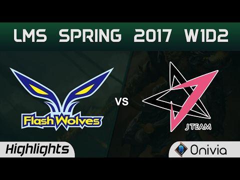 những pha xử lý hay FW vs JT Highlights Game 1 LMS Spring 2017 W2D1 Flash Wolves vs J Team - http://cliplmht.us/2017/02/18/nhung-pha-xu-ly-hay-fw-vs-jt-highlights-game-1-lms-spring-2017-w2d1-flash-wolves-vs-j-team/
