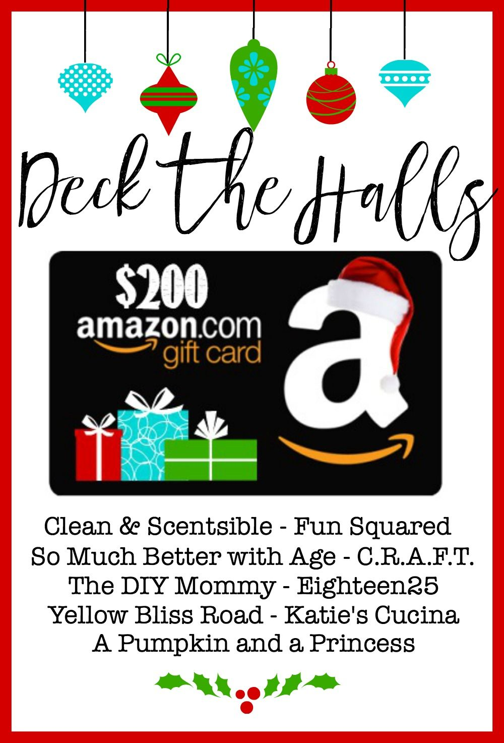 $200 Amazon Giveaway | Gift cards, Amazons and Cards