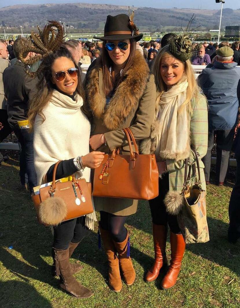 fairfax and favor spotted at cheltenham races  race day
