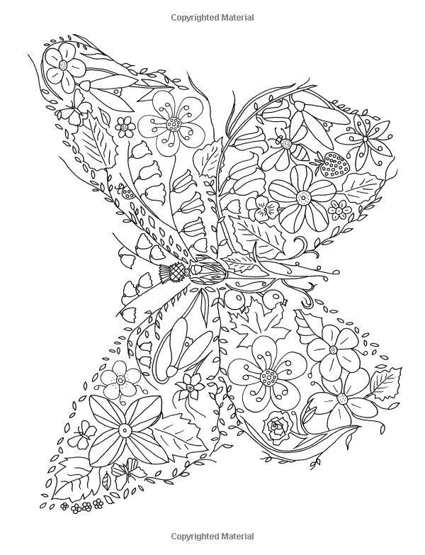 Flower Hunter Colouring Book Amazonde Deann Black