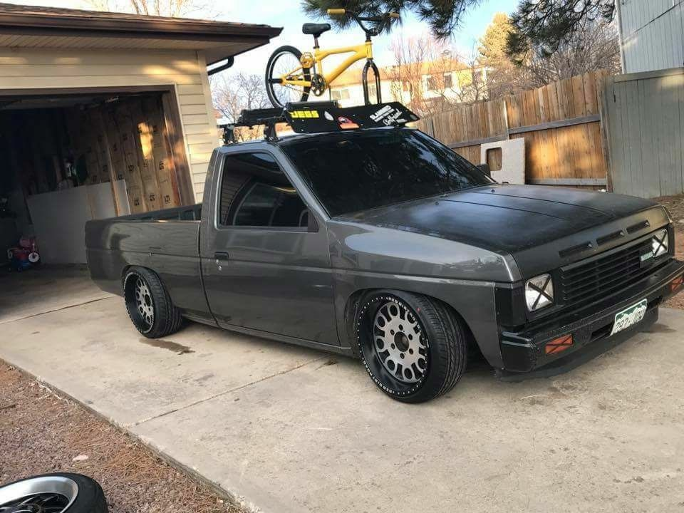 Nissan D21 Minitruck Pickup Singlecab Modified Lowered Slammed Stance