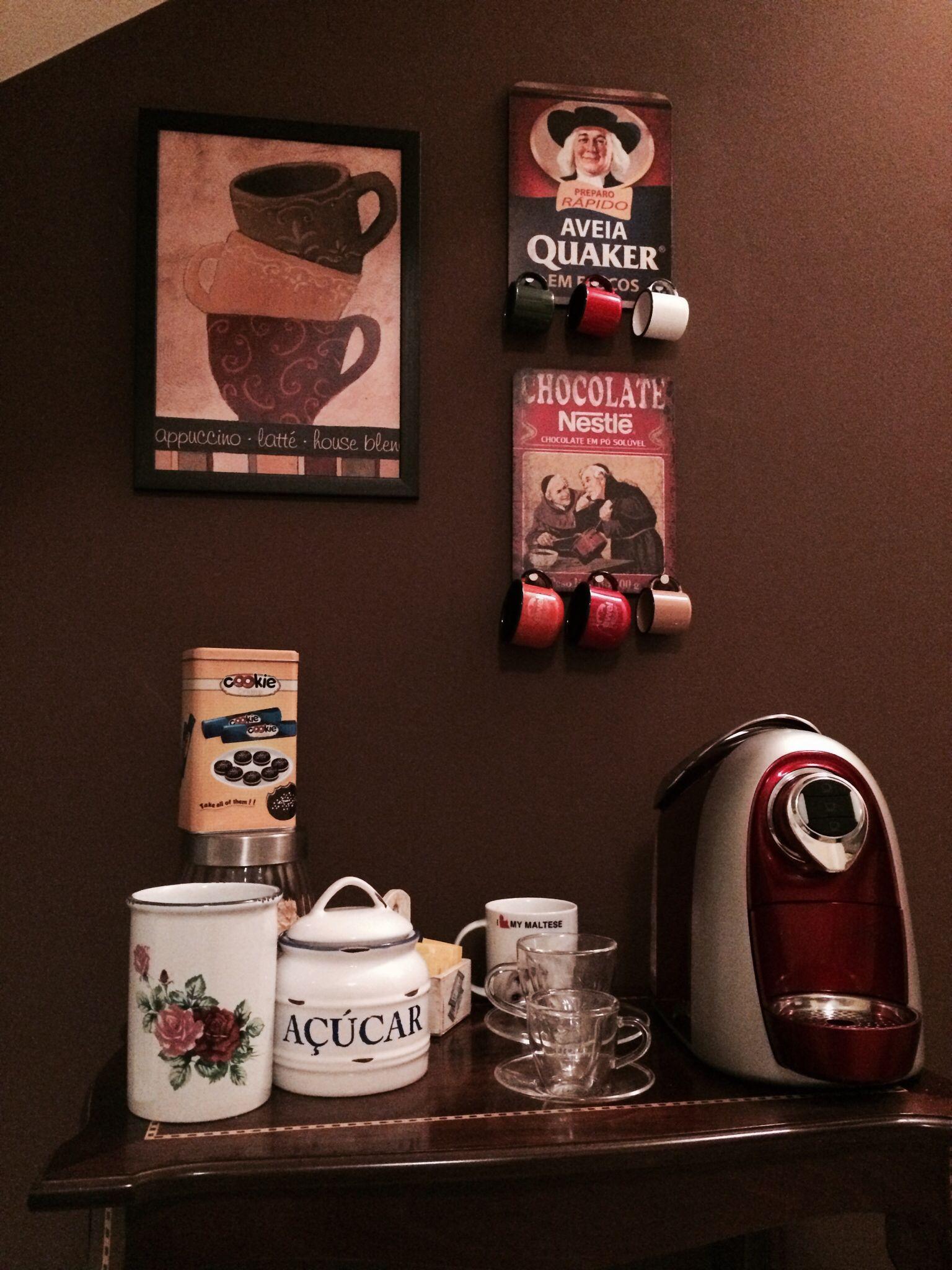 Cantinho do cafe!! | Decoracao bar e cantinho do cafe | Pinterest ...