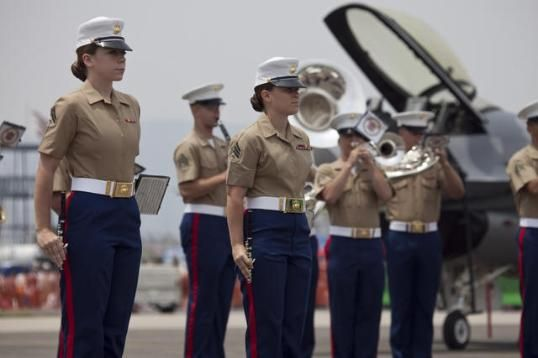 Lady Marines Uniform