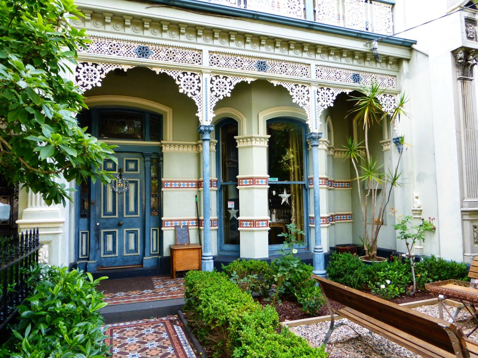 My Vintage Journeys: VICTORIAN HOMES OF MELBOURNE