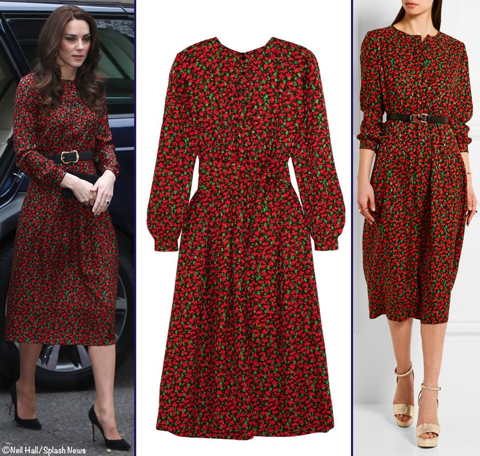 Lace dress kate middleton  The Vanessa Seward dress Kate wore to a Heads Together engagement in
