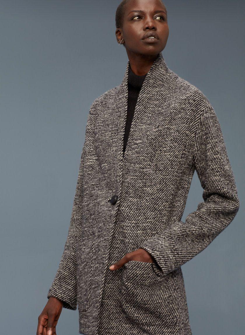 Neelam coat layering shapes and coats