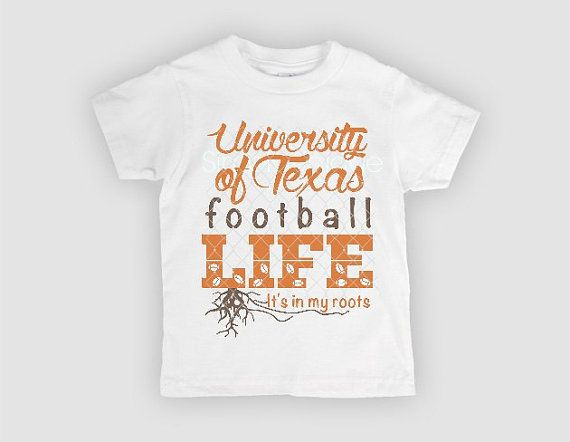 new products e5184 92bbd UT University of Texas Longhorn shirt youth tee by ...