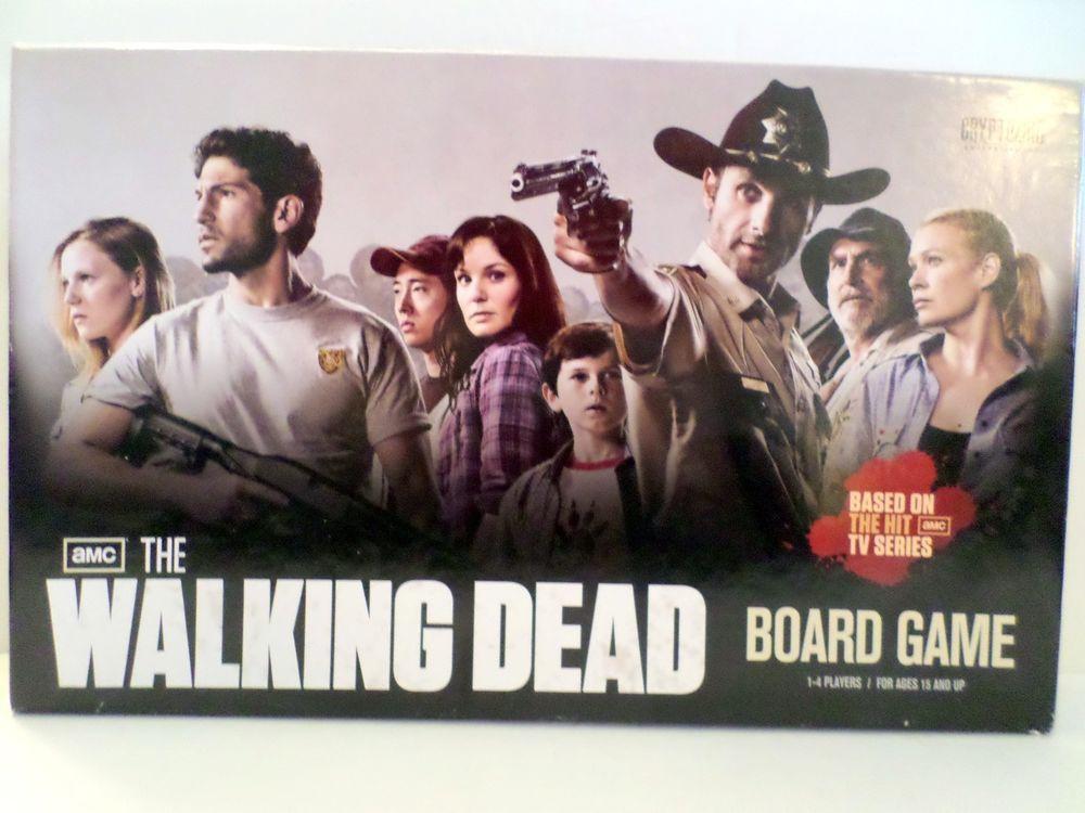 The Walking Dead Board Game Cryptozoic zombie apocalypse survival kit game #cryptozoic