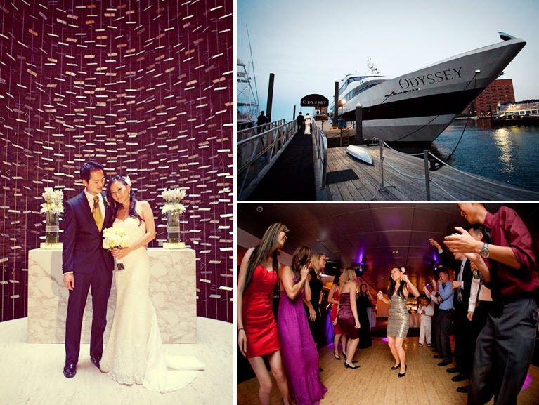 The Odyssey Cruise Ship Sailed Through Boston Harbor While