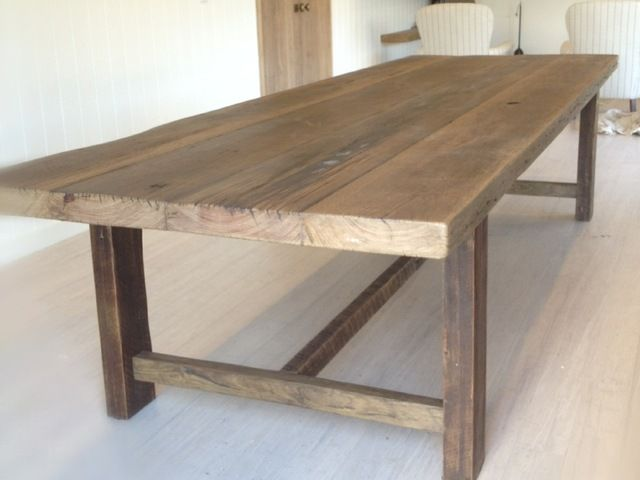 Feasting Table By Rabbit Trap Timber Recycled Community Family Dining Rustic
