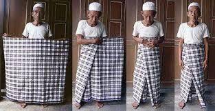 الفوط الغالية وهي فوط من الحرير أحضرها المهاجرين الحضارم الأوائل من جزيرة بالي الجميلة الاندونيسية الفوط العدنية إزار هو Arabic Clothing Sarong Man Skirt