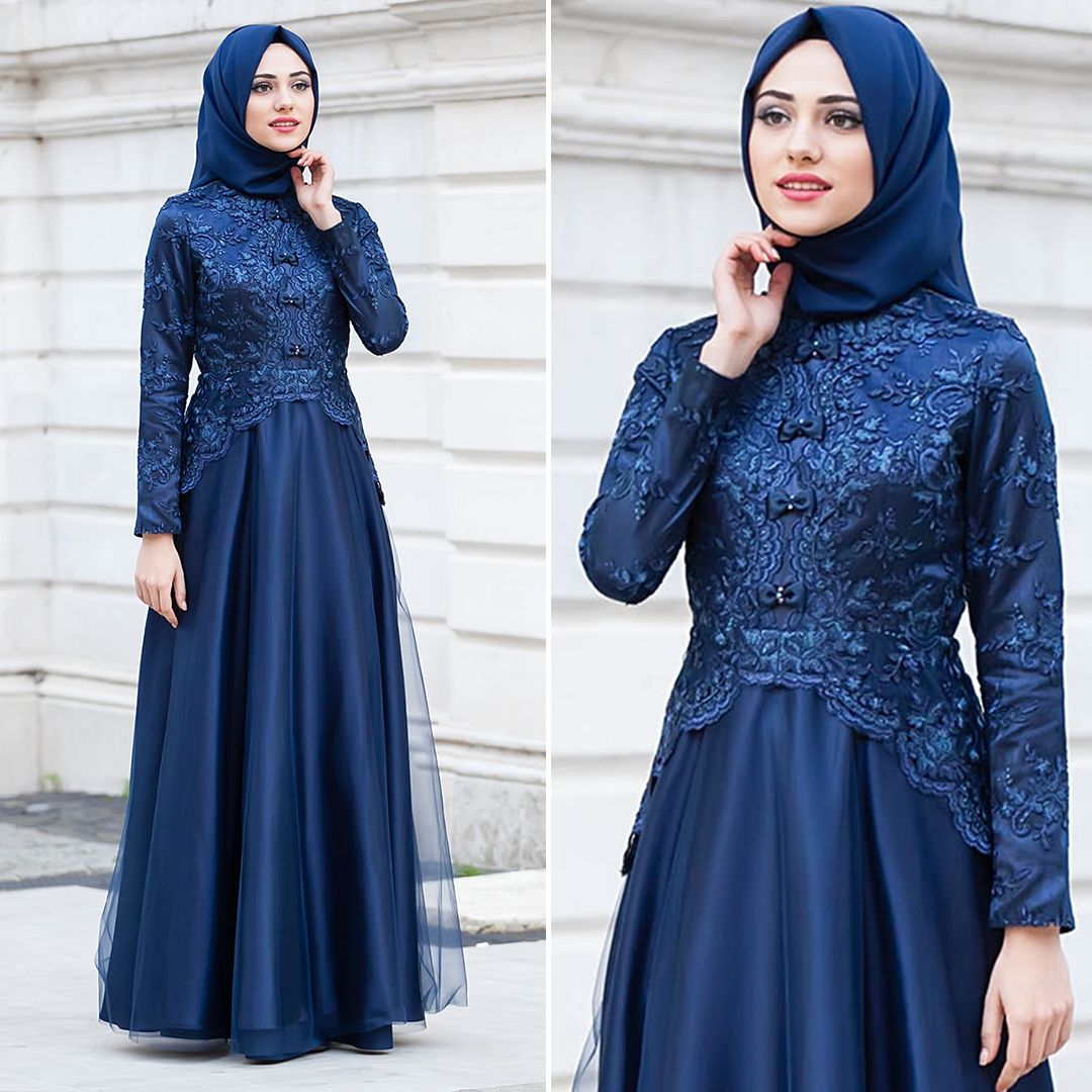 Kebaya Muslim  Dress brokat modern, Dress brokat, Dress muslim modern