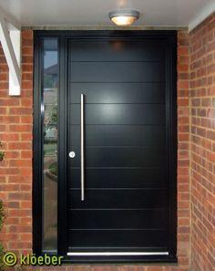 black entrance door modern - Google zoeken | door | Pinterest ...