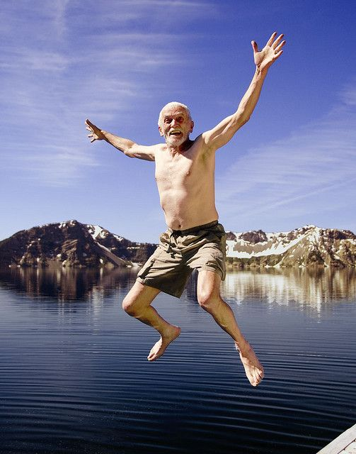 Crazy Old Man of Crater Lake (With images) | Aging well, Growing ...