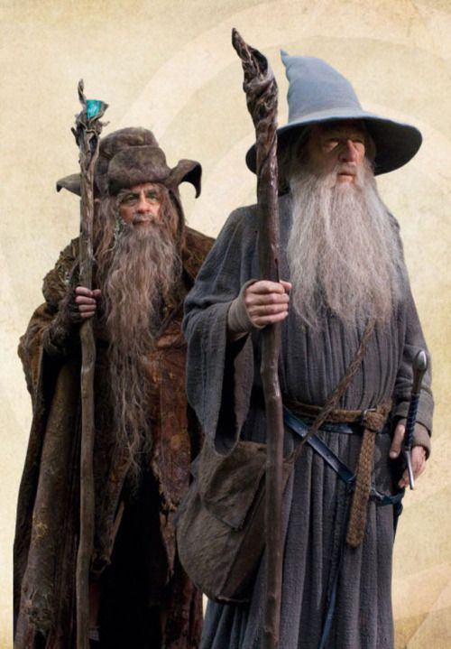 where do gandalf and radagast meet