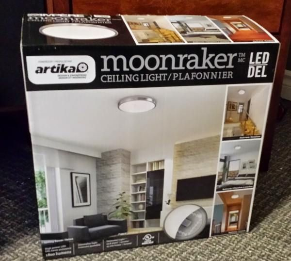 Ampere moonraker led ceiling light at costco 39 99 and looks great