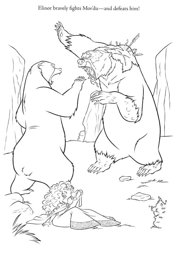 Brave Coloring Pages | Coloring people | Pinterest | Crayons ...