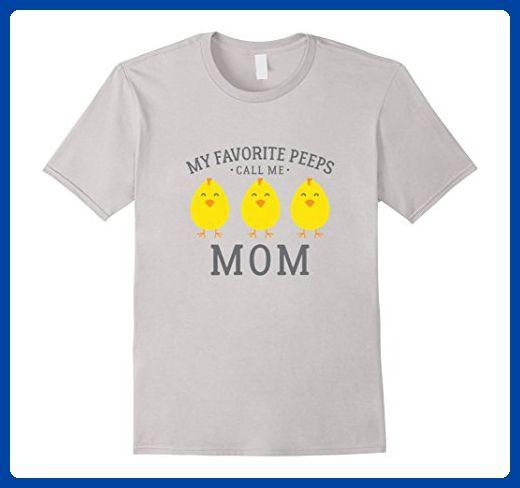 Mens my favorite peeps call me mom shirt cute easter gift 3xl silver mens my favorite peeps call me mom shirt cute easter gift 3xl silver holiday and negle Images