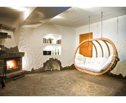 Hangstoel globo royal natura ideeën voor het huis
