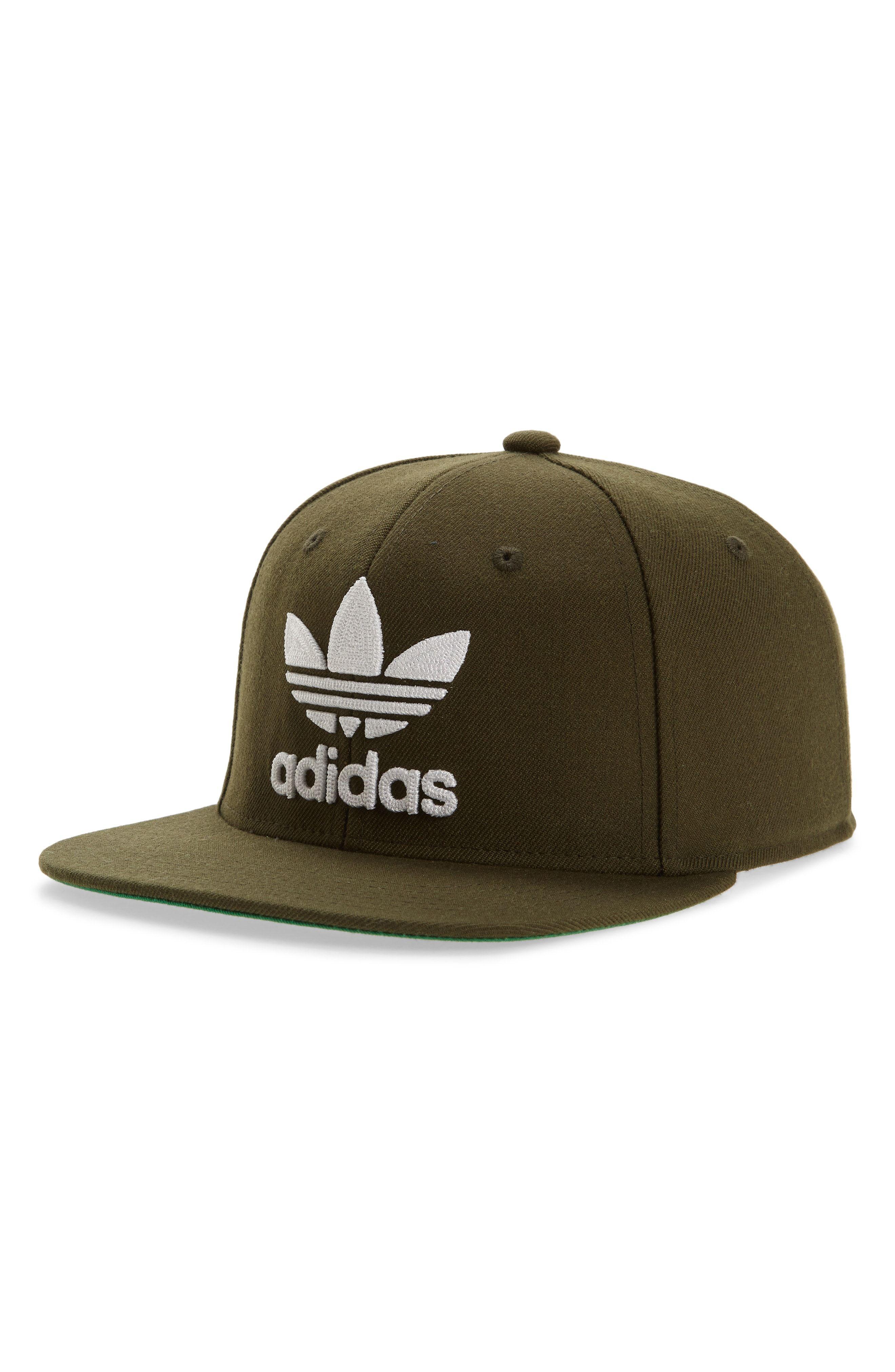 cad212283cb43 ADIDAS ORIGINALS TREFOIL CHAIN SNAPBACK BASEBALL CAP - GREEN.   adidasoriginals