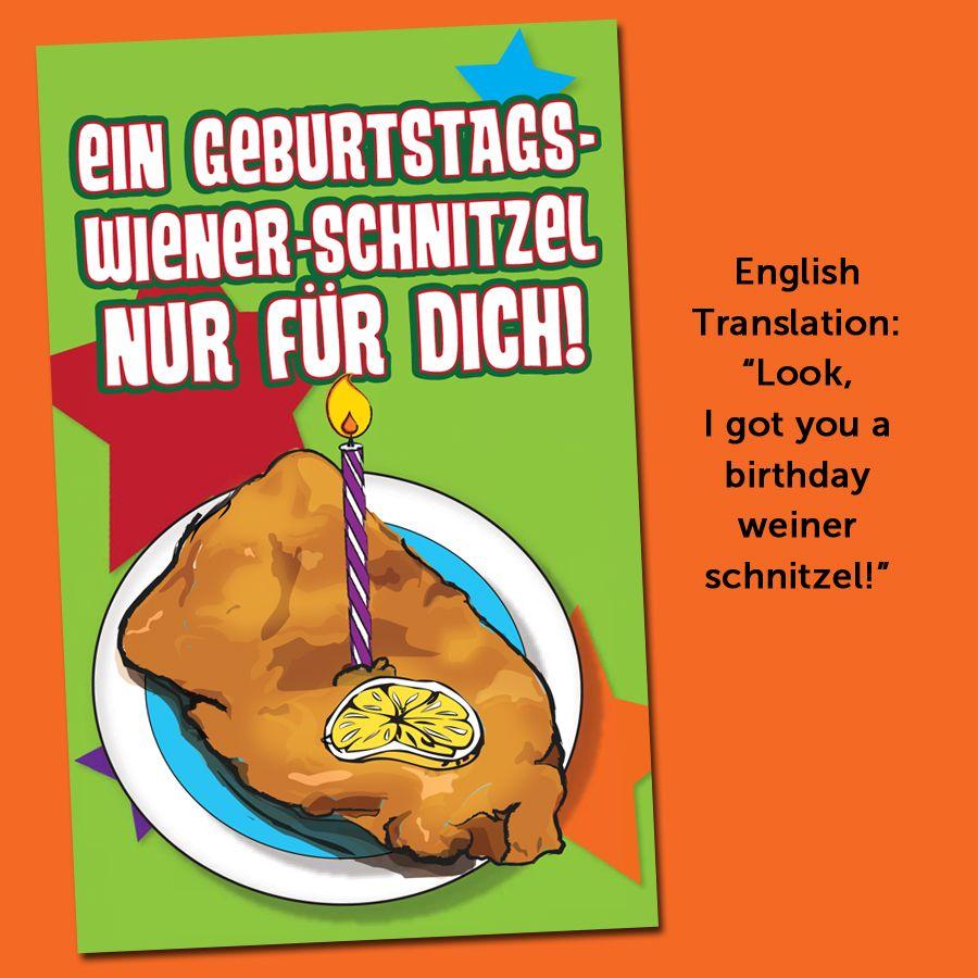 birthday schnitzel german cards teachers discovery discovery happy birthday german birthdays happy