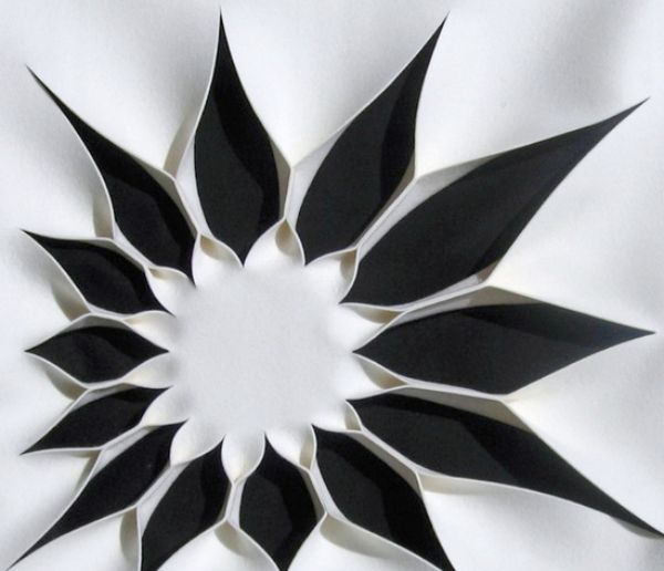 Wanddeko Akustik-Wand Design schwarz weiß Ideen für eine bessere - innovative oberflachengestaltung pixelahnliche elemente