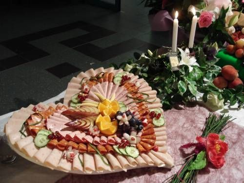 Buffet froid communion l ane pinterest pr sentoir - Idee presentation buffet froid ...