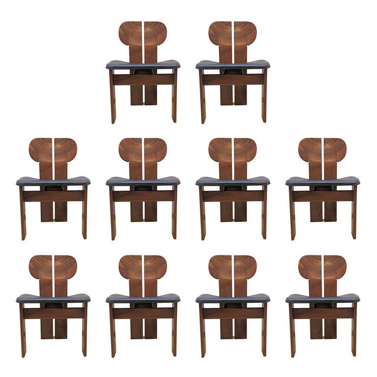 Set Of 10 Artona Chairs By Afra And Tobia Scarpa Classic Furniture Design Antique Dining Room Chairs Modernist Furniture
