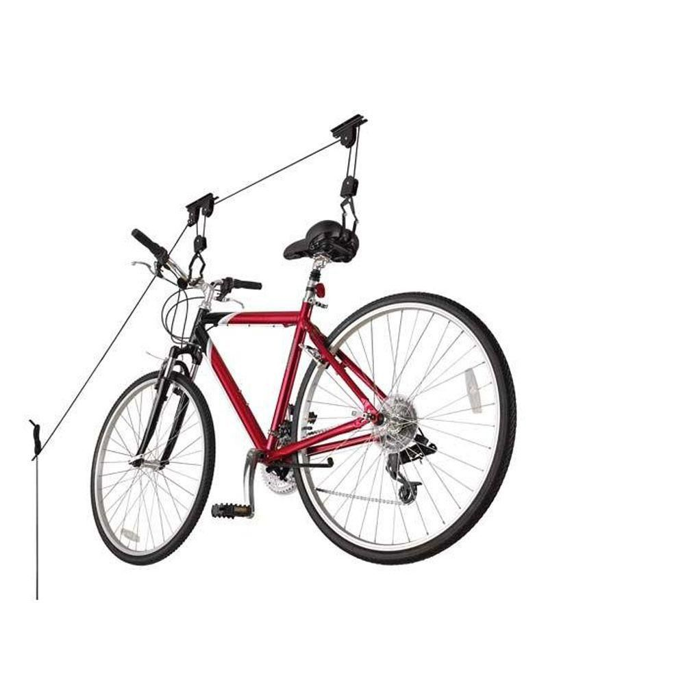 Racor 1 Bike Ceiling Mount Bike Lift Pbh 1r The Home Depot With
