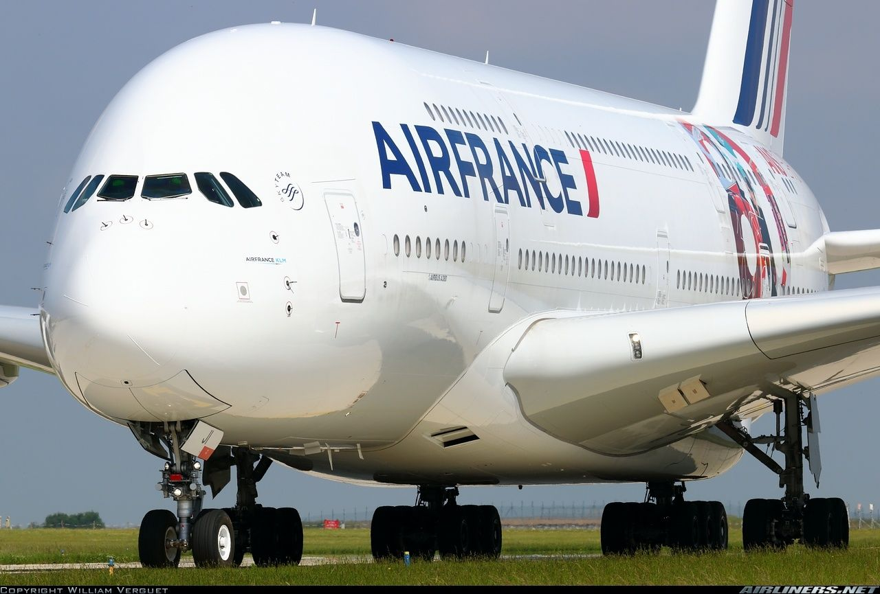 Airbus A380861 aircraft picture Air france, Airbus a380