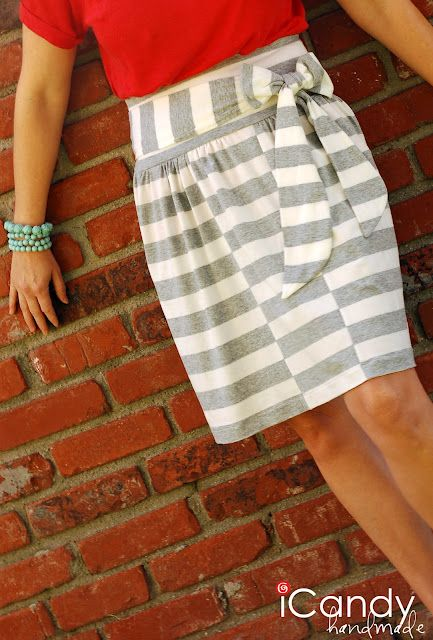 Hop scotch skirt