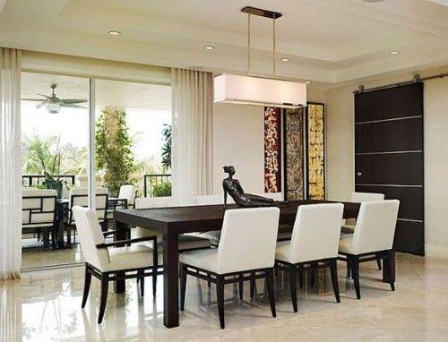 10 Comedores Modernos para Decorar tu Casa | Kitchen | Dining room ...