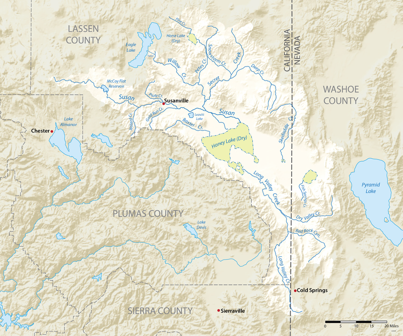 Susan River (California) - Wikiwand   maps   River, Sierra ... on