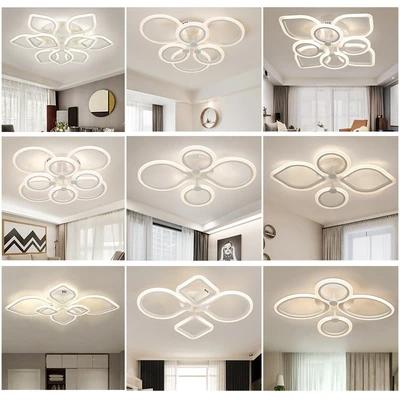 Flowers Unique Design Modern LED Lighting Ceiling Lamp - Lighting Garner #chandeliers #homeinterior #homelighting #interiordesign #livingroomdecorations #homedecor #pendantlamp