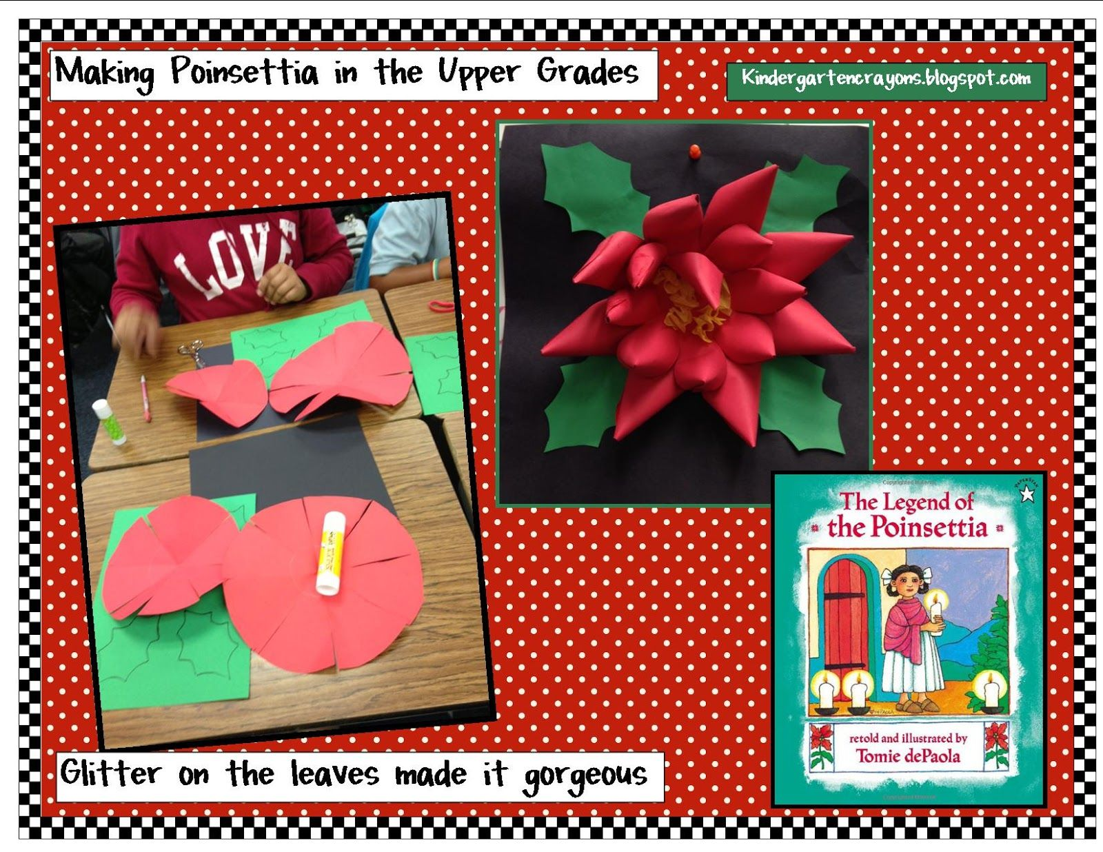 Kindergarten Crayons Search Results For Poinsettia