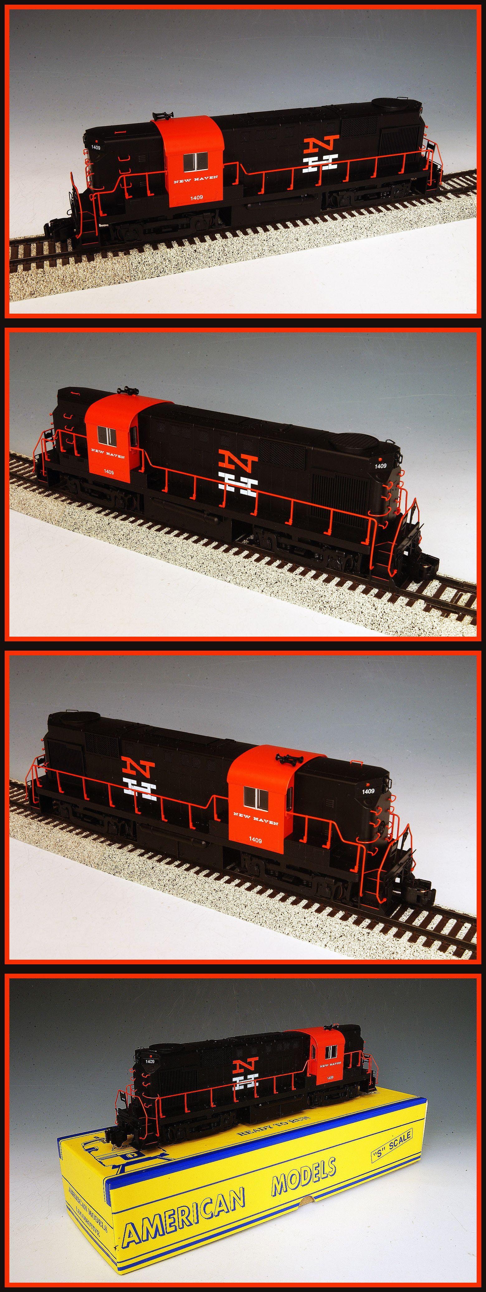 Locomotives american model ac hirail new haven rr dx