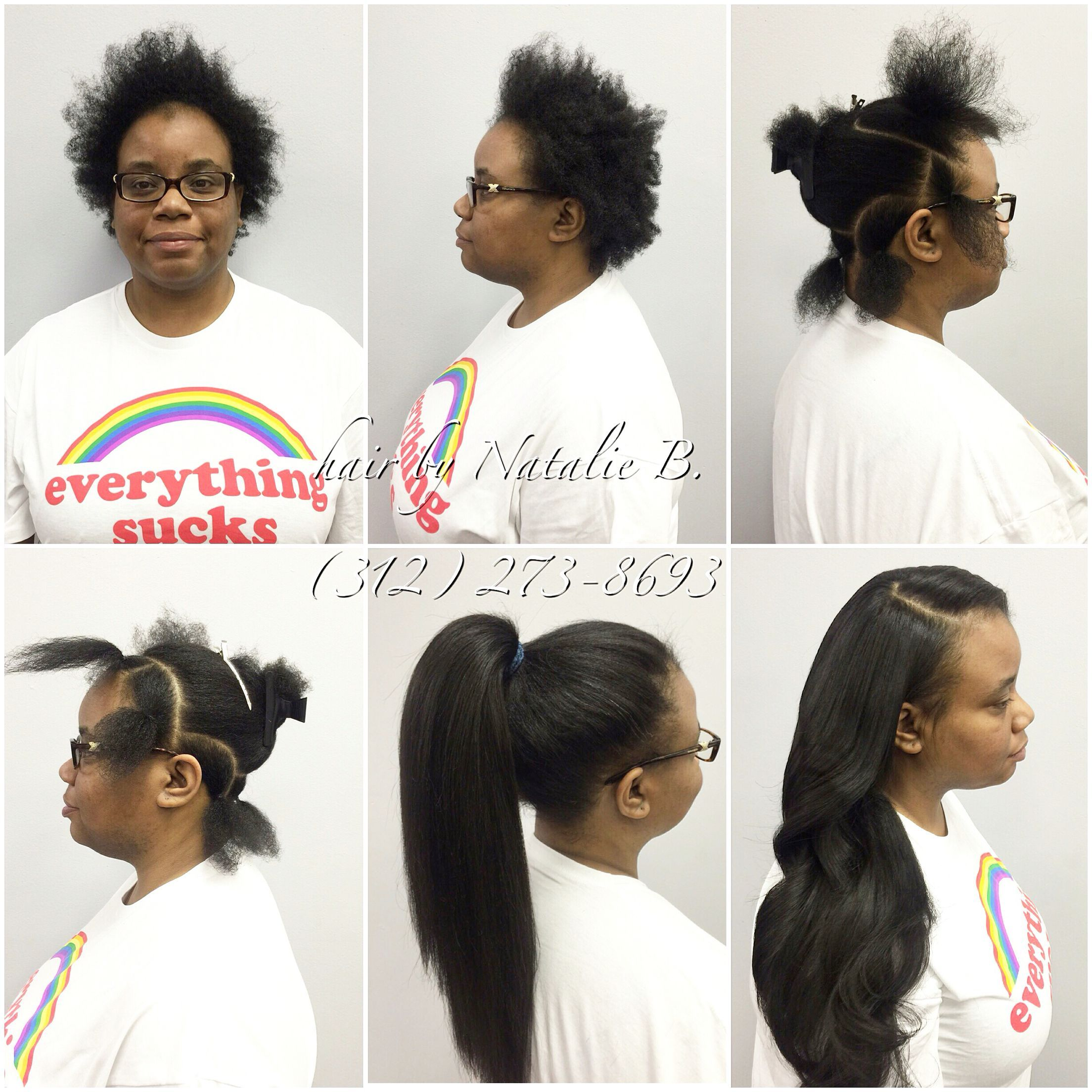 Finally A True Versatile Sew In That Looks Like Her Real Hair When Choosing The Best Matters The E Weave Hairstyles Hair Styles Short Hair Styles