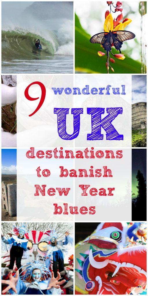 Wonderful Uk Destinations To Banish New Year Blues Uk Destinations Day Trips Uk Family Holiday Idea