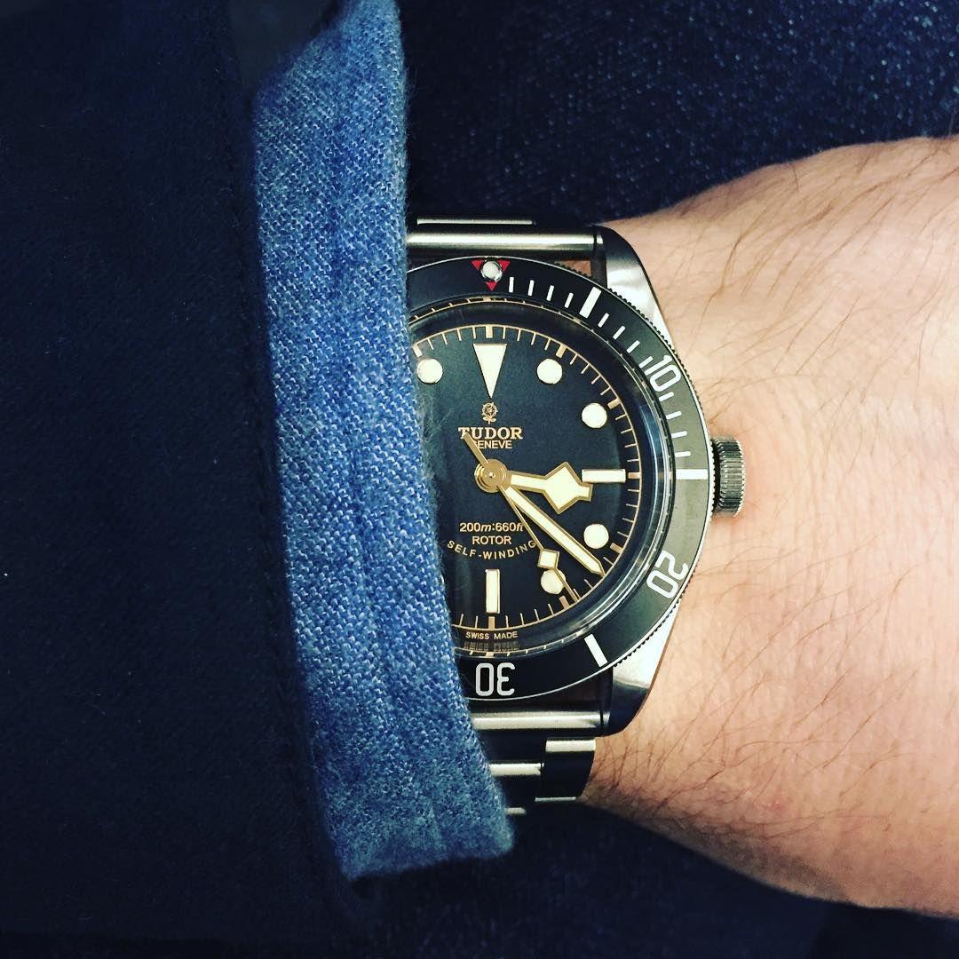 Tudor Black Bay With Ranger Bracelet