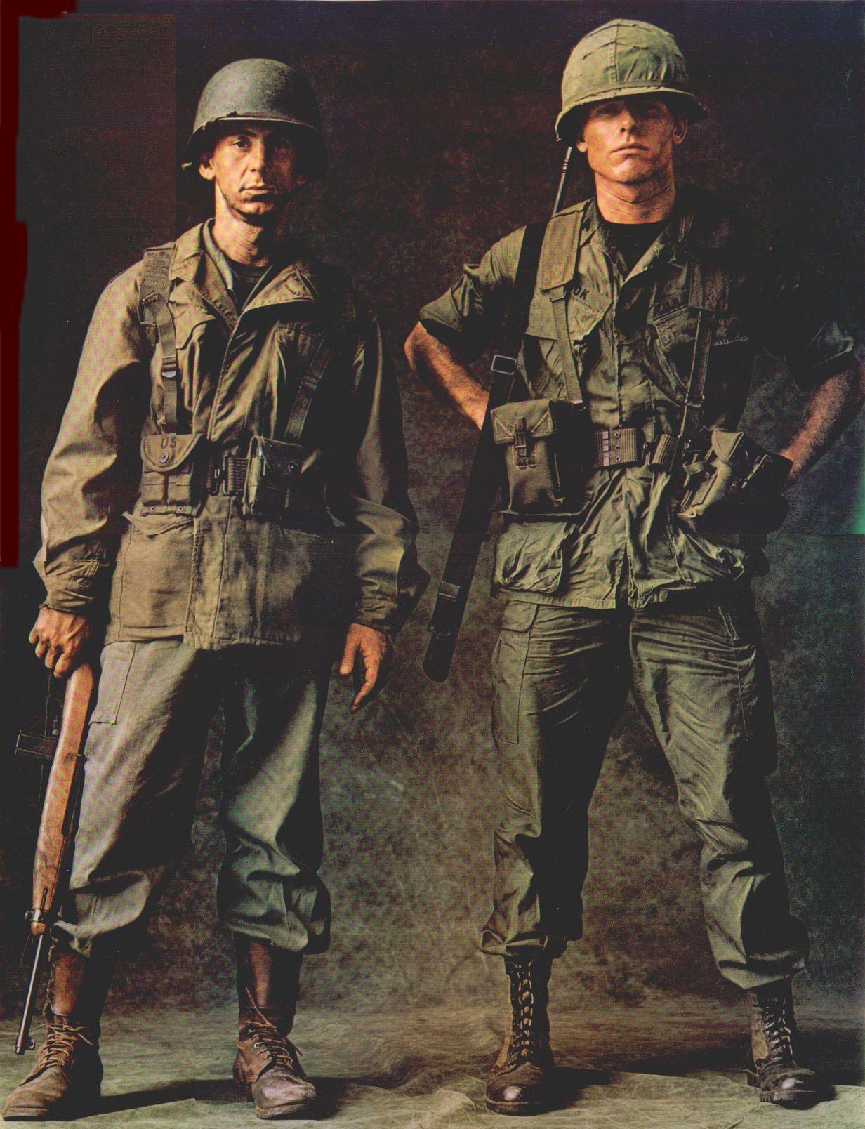 Metallurg1000 Us Army Uniforms Combat Uniforms Vietnam War