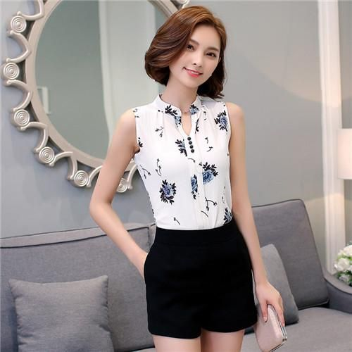 d042e81657b18 Now available on our store  Women Blouse Lively Print Summer Top Black and  White Check it out here for more information!
