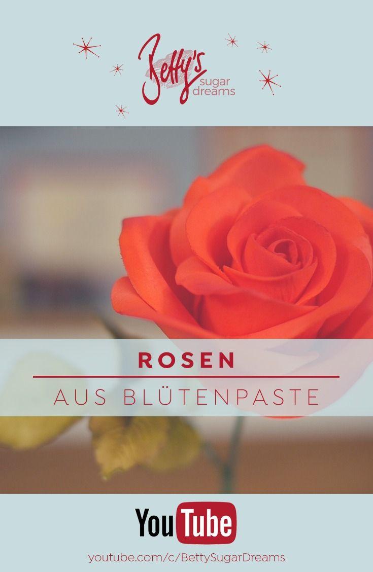 rosen aus bl tenpaste f r torten dekoration rose made from flowerpaste used for cake. Black Bedroom Furniture Sets. Home Design Ideas
